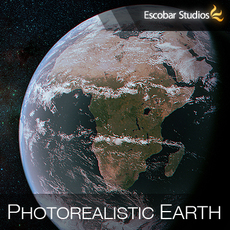 Photorealistic Earth II (v2)  3D Model