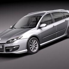 Renault Laguna Estate 2011 3D Model
