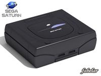Sega Saturn 3D Model