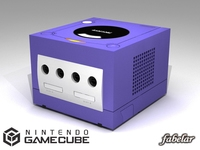 Nintendo Gamecube 3D Model