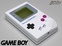 Game boy 3D Model
