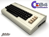 Commodore C64 3D Model