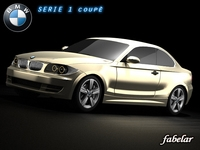 BMW 135i 2008 3D Model