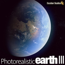 Photorealistic Earth III (v3.0) 3D Model