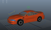 Free Car Rigged for Maya 1.0.0