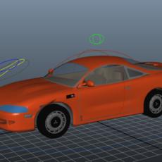 Car Rigged for Maya 1.0.0
