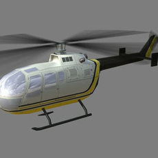 Bo105 V1 3D Model