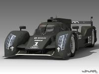 Audi R18 3D Model