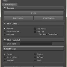 camTools for Maya 1.0.0 (maya script)