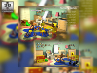 NurseryRoom 3D Model