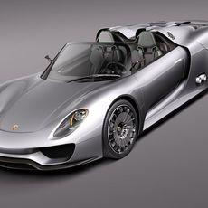 Porsche 918 Spyder 2012 3D Model