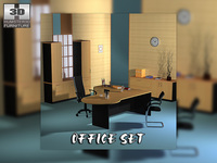 Office set 17 3D Model