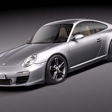 Porsche 911 Carrera - 2011 997 coupe 3D Model