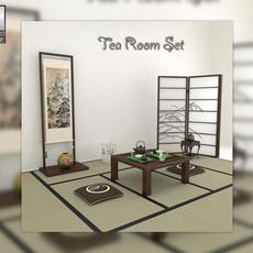 Tea Room 3D Model