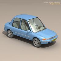 cartoon car 1 3D Model