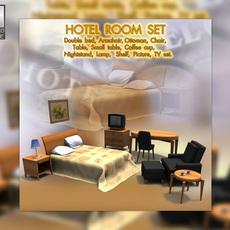 Hotel Room 01 3D Model