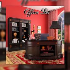 Office Set 19 3D Model