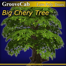 Big Cherry Tree 3D Model
