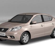 2012 Nissan Sunny 3D Model