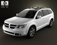 Dodge Journey 3D Model