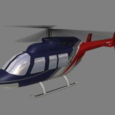 Jet Ranger V5 3D Model