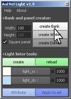 Free AutVel Light for Maya 1.9.0 (maya script)