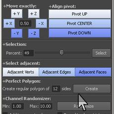 AutVel Poly for Maya 2.8.0 (maya script)