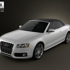 Audi S5 Convertible 3D Model