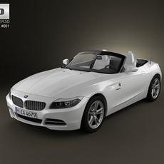 BMW Z4 2010 3D Model