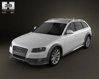 Audi A4 Allroad 2010 3D Model