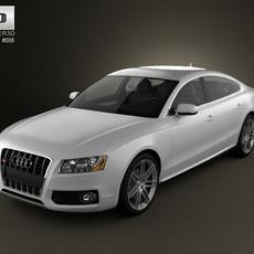 Audi S5 Sportback 2011 3D Model