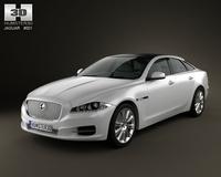 Jaguar XJ 2010 3D Model