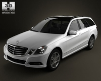 Mercedes-Benz E-class estate 3D Model