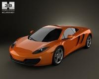 McLaren MP4-12C 2011 3D Model