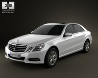 MercedesBenz E500 2010 3D Model