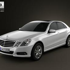 MercedesBenz E500 2010 3D Model