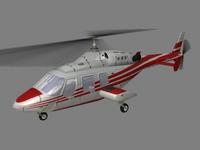 Bell 222 V4 3D Model