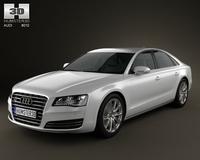 Audi A8 2010 3D Model