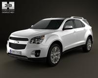 Chevrolet Equinox 2010 3D Model