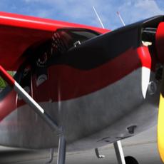 Cessna 180 Sky Wagon 3D Model