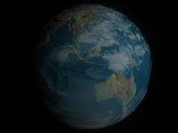 Free 3d Earth model 3D Model