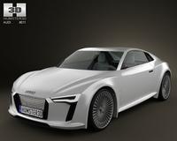 Audi e-tron Concept 3D Model