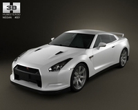 Nissan GT-R 3D Model