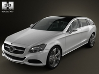 Mercedes-Benz Shooting Break 3D Model