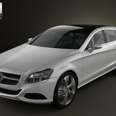 Mercedes-Benz Shooting Break 3D Model