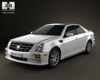 Cadillac STS 2010 3D Model