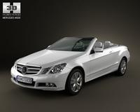 Mercedes-Benz E cabrio 3D Model