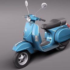 Vespa PX 150 2011 3D Model