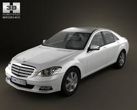 Mercedes-Benz S class 3D Model