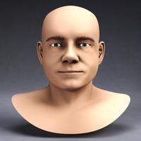 Martin Freeman 3D Model